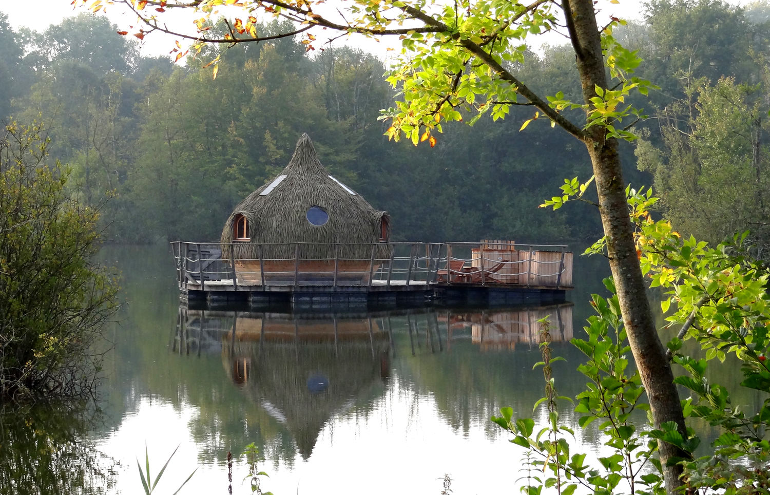Cabane Des Grands Reflets neptune spa cabinfrom €240 - coucoo grands lacs