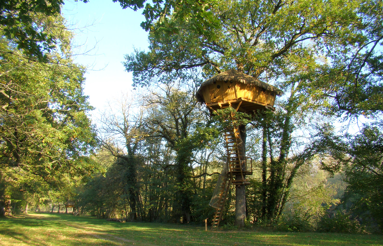 cabane dans les arbres duo reflet franche comt. Black Bedroom Furniture Sets. Home Design Ideas