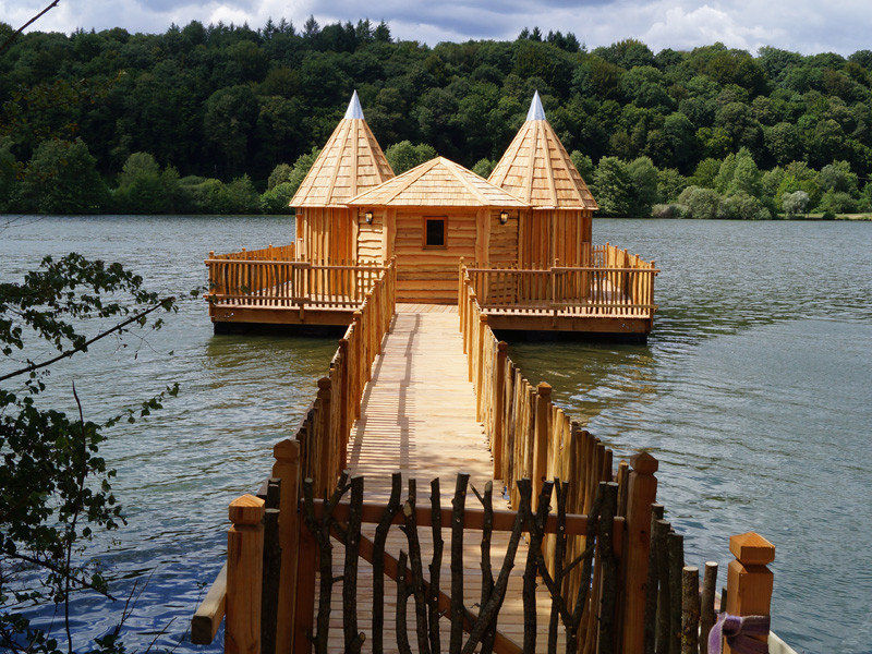 Cabane flottante familiale spa