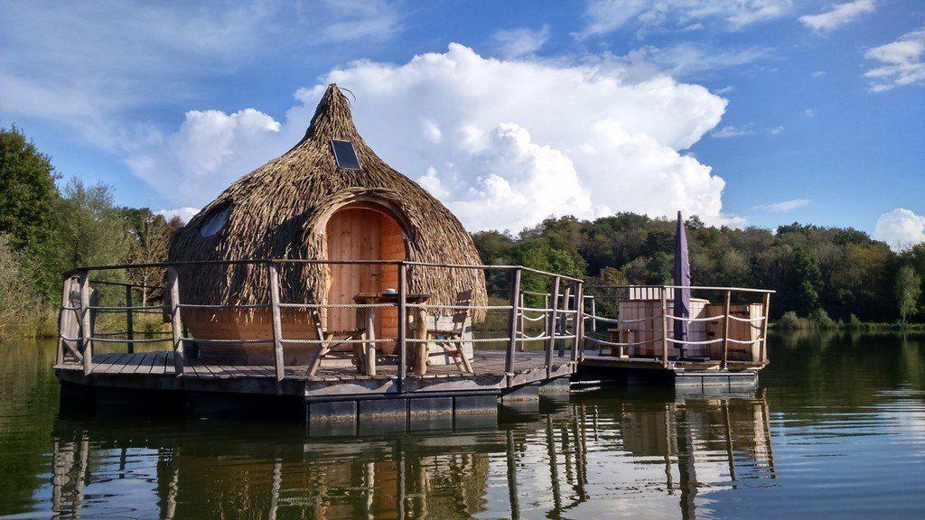 Cabane sur l'eau