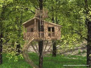 cabane-perchee-famille-originale