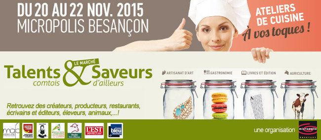 Salon talents et saveurs Besançon
